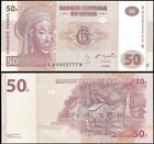 Congo 50 FRANCS Printer G&D 2007 P 97 UNC