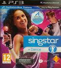 SINGSTAR + DANCE (12) 2010 LondonStudio Sony Playstation 3 singing Game 30 Hits