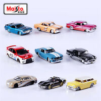 Diecast Model Dodge Ford Chevrolet Volkswagen Car Maisto 1:64 Scale Car Toys