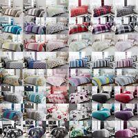 Jackson & Newton Tartan Check Duvet/Quilt Cover Bedding Sets With Pillow Cases