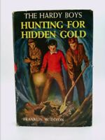 Hunting for Hidden Gold : Hardy Boys Mystery No. 5 : Tan Cover with Dust Jacket