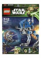 Lego Star Wars 75002 AT-RT new sealed 501st Clone Trooper Yoda Droideka