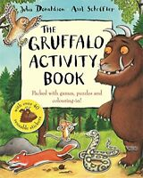 The Gruffalo Activity Book by Donaldson, Julia Paperback Book The Cheap Fast