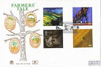 7 SEPTEMBER 1999 FARMERS TALE STUART FIRST DAY COVER BETTER CHANGING LAND SHS