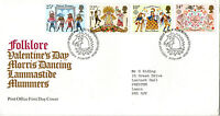 6 FEBRUARY 1981 FOLKLORE POST OFFICE FIRST DAY COVER BUREAU SHS