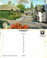1980's THE OLD VILLAGE SHANKLIN ISLE OF WIGHT UNUSED COLOUR POSTCARD (a)