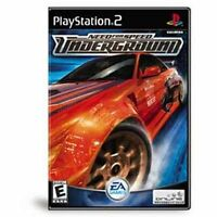 Need for Speed: Underground (Sony PlayStation 2 PS2, 2003) -- Platinum Edition