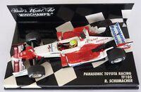 F1 1/43 TOYOTA TF105 SCHUMACHER 2005 MINICHAMPS