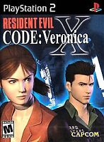 Resident Evil: Code Veronica X, (PS2)