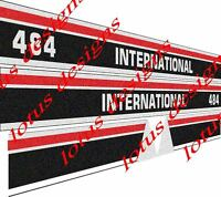 international 484 Tractor stickers / decals (latest model)