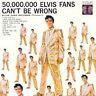 ELVIS PRESLEY 50,000,000 Elvis Fans Can't Be Wrong: Golden Records Vol. 2 CD