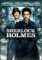 SHERLOCK HOLMES (2009) DVD/ROBERT DOWNEY JR/JUDE LAW/GUY RITCHIE