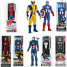 """12"""" Avengers Figures Black Panther Thanos Hulk Thor Captain And All Others"""