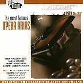 The Most Famous Opera Arias -  - CD 1994-07-19