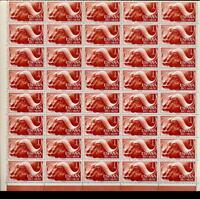 SPAIN RIO MUNI 1962 BUFFALO 1pta MINT....FULL SHEET