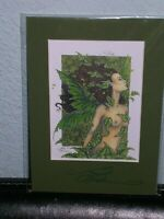 Amy Brown - Crystal Faery - Matted Petite - SIGNED