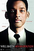 SEVEN POUNDS, Original Theatrical Movie Poster!