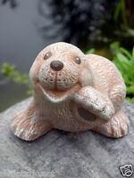 Steinfigur Maulwurf Mauli Tierfigur Gartenfigur Gartendeko Steinguss frostfest