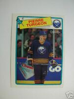 88-89 PIERRE TURGEON RC OPC ROOKIE O PEE CHEE 1988-89