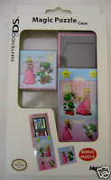 Peach & Yoshi Puzzle Game Case For NDS/Nintendo DS. New