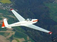 ASK-14 Schleicher Glider Airplane Wood Model Big
