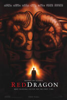 RED DRAGON MOVIE POSTER 2 Sided ORIGINAL ADVANCE 27x40