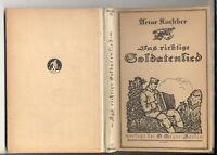 Kutscher - Das richtige Soldatenlied -Singweisen EA1917