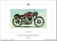 MATCHLESS G45 - Motorcycle Fine Art Print - 500cc Twin