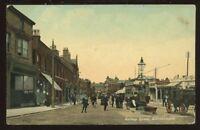 Lancs MANCHESTER Altrincham Railway St PPC 1909