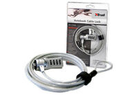 NEW TRUST BRAND 14128 NOTEBOOK LAPTOP NETBOOK 2M LONG CABLE WITH KENSINGTON LOCK