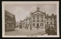 Beds LUTON Town Hall Trams early PPC