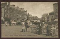 Bucks AYLESBURY Market Sq + market 1904 PPC
