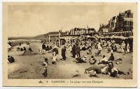 14*CABOURG-La Plage vue vers Houlgate