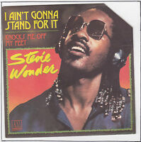 WONDER Stevie  45T 7 SP I AIN'T GONNA STAND FOR IT RARE