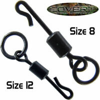 Gardner Tackle Covert Flexi Ring Kwik Lok Swivels - Carp Bream Coarse Fishing