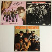 LOT DISQUES 45T - 33T SPECIAL VILLAGE PEOPLE