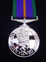 BRITISH ARMY,GUARDS,PARA,SAS,RAF,RM,SBS - F/S ACSM MILITARY MEDAL & RIBBON NEW!