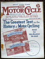 THE MOTORCYCLE MAGAZINE-SPECIAL EASTER NUMBER, 7 APR 1938 -VOL. 60