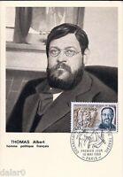 THOMAS ALBERT homme politique français - Carte postale 1er jour FDC, 1969