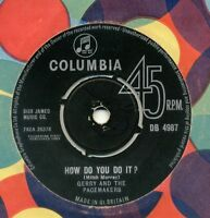 """Gerry And The Pacemakers-How Do You Do It UK 7"""" Single VG+ Cond"""