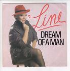 "LINE RENAUD Vinyle 45 tours SP 7"" DREAM OF A MAN - FRANCEVAL 741.005 STEREO RARE"