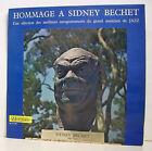 "33 tours SIDNEY BECHET Vinyl LP 12"" HOMMAGE GRAND MUSICIEN DE JAZZ MUSIDISC 952"
