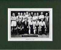 MOUNTED FOOTBALL TEAM PRINT - ROCHDALE - 1936