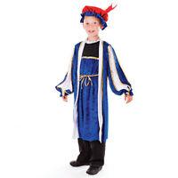 CHILD TUDOR BOY FANCY DRESS VICTORIAN MEDIEVAL BOOK WEEK COSTUME 2 SIZES
