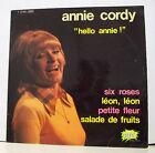"33 tours ANNIE CORDY Disque Vinyl LP 12"" HELLO ANNIE PUNCH 12452"