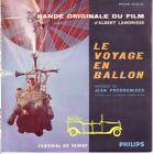 """FRENCH EP 45 TOURS BOF/OST """"Le Voyage En Ballon"""" JEAN PRODROMIDES 1960"""