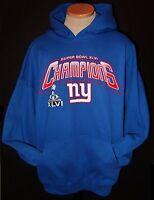New York Giants Super Bowl XLVI Champions  Hoodie Hooded Sweatshirt Adult S-5XL