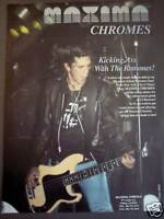 1992 The Ramones MAXIMA CHROMES Guitar Strings Music Ad