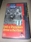 TOTO' E PEPPINO DIVISI A BERLINO - VHS TOTO' - ED. FABBRI 1994