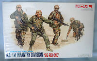 """DML U.S. 1st INFANTRY DIVISION """"BIG RED ONE"""" 1:35 MILITARY MODEL No. 3015"""